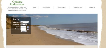 Cottage Hideaways - cottages in Norfolk and Suffolk