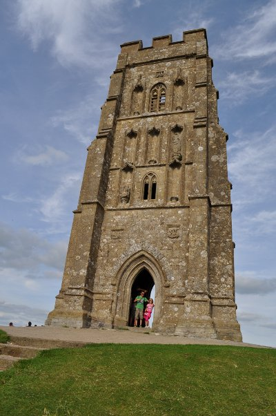 Tower at top of Glastonbury Tor